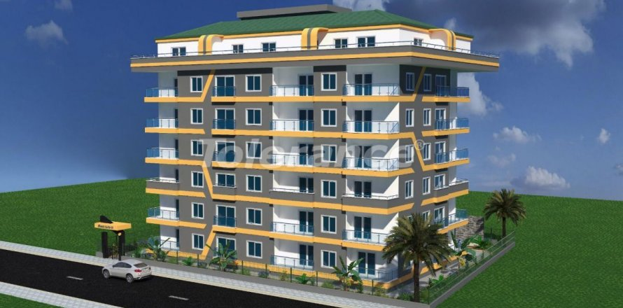 Квартира 3+1 в Махмутларе, Анталья, Турция №3123
