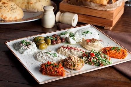 Мезе в турецкой кухне