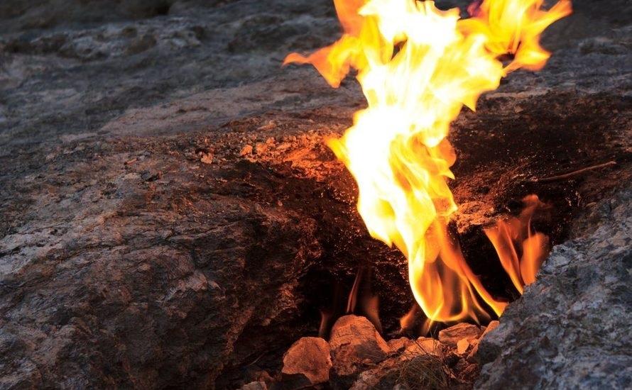 Огненная гора Химера