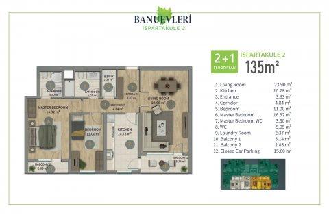 Продажа квартиры в Стамбуле, Турция 2+1, 135м2, №2847 – фото 8