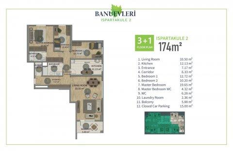 Продажа квартиры в Стамбуле, Турция 2+1, 135м2, №2847 – фото 10