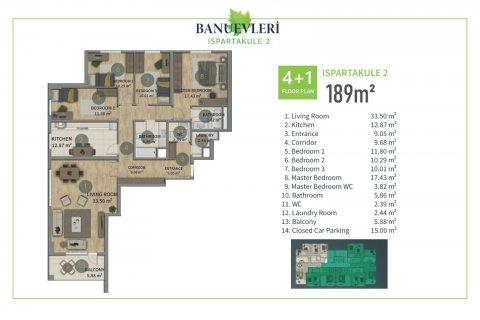 Продажа квартиры в Стамбуле, Турция 2+1, 135м2, №2847 – фото 13