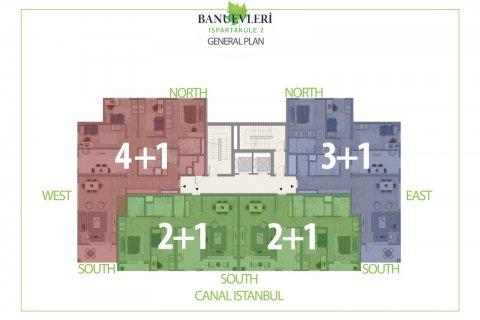 Продажа квартиры в Стамбуле, Турция 2+1, 135м2, №2847 – фото 9