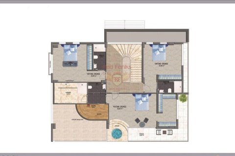 Продажа квартиры в Аланье, Анталья, Турция 3+1, №2562 – фото 19