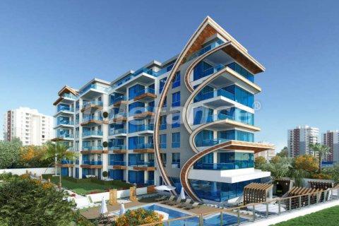 Продажа квартиры в Аланье, Анталья, Турция 1+1, 76м2, №3830 – фото 1