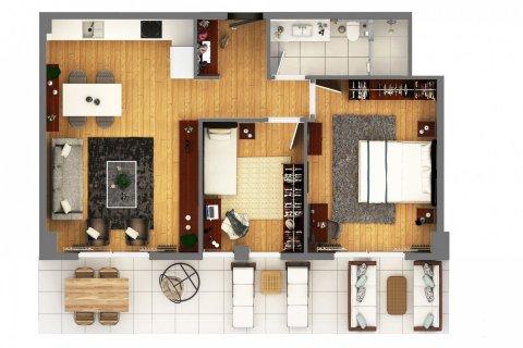 Продажа квартиры в Муратпаше, Анталья, Турция 2+1, 110м2, №4520 – фото 33