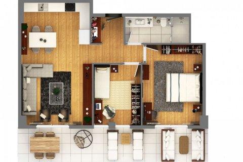 Продажа квартиры в Муратпаше, Анталья, Турция 2+1, 110м2, №4520 – фото 32