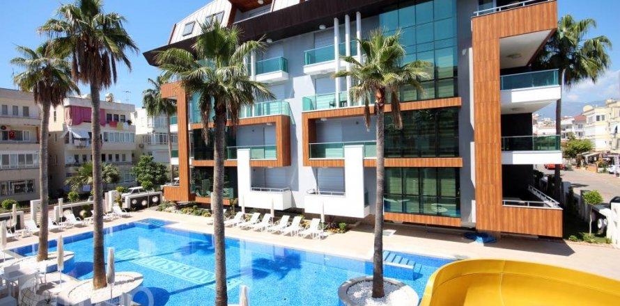 Квартира 2-х ком. в Оба, Анталья, Турция №4276