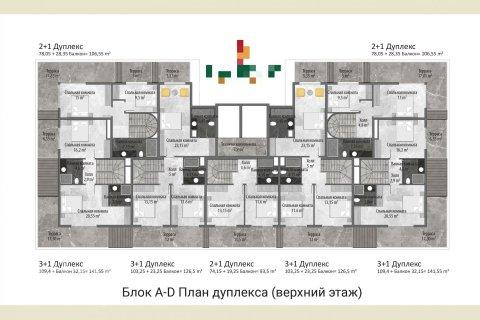 Квартира 1-х ком. в Авсалларе, Турция №323 - 20