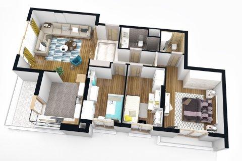 Продажа квартиры в Коньяалты, Анталья, Турция 3+1, 110м2, №4565 – фото 19