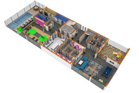 Продажа квартиры в Махмутларе, Анталья, Турция 2 комн., 70м2, №4364 – фото 28