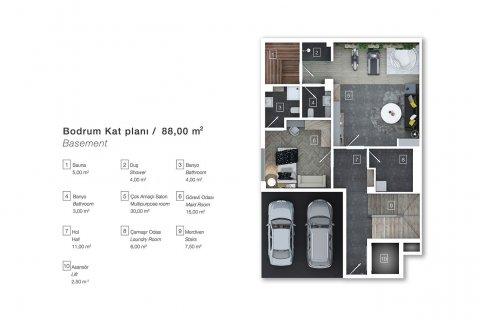 Продажа виллы в Коньяалты, Анталья, Турция 6+1, 470м2, №4543 – фото 10