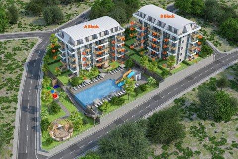 Квартира 1+1 в Аланье, Турция №4125 - 8