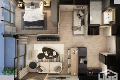Квартира 1+1 в Стамбуле, Турция №4035 - 3