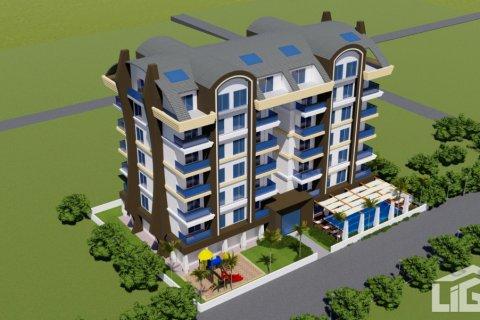 Квартира 1+1 в Аланье, Турция №4118 - 6