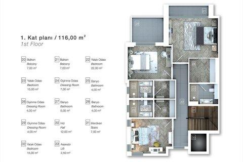 Продажа виллы в Коньяалты, Анталья, Турция 6+1, 470м2, №4543 – фото 12
