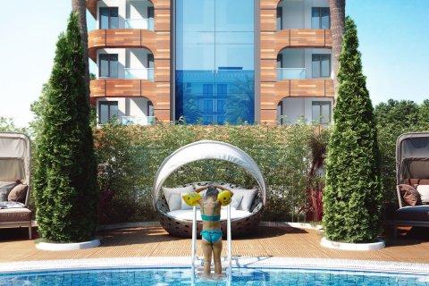 Продажа квартиры в Кестеле, Анталья, Турция 1+1, 50м2, №4296 – фото 7