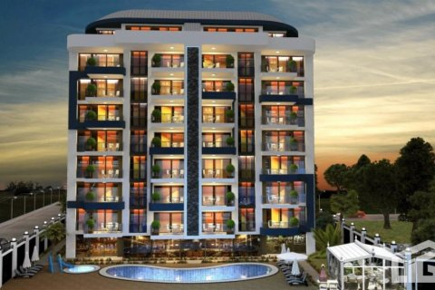 Продажа квартиры в Аланье, Анталья, Турция 1+1, 64м2, №4038 – фото 2