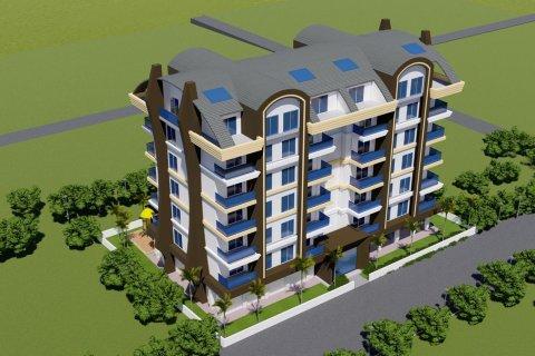 Квартира 1+1 в Аланье, Турция №5294 - 10