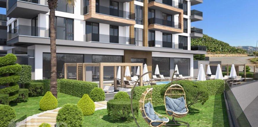 Квартира 2-х ком. в Аланье, Анталья, Турция №4366