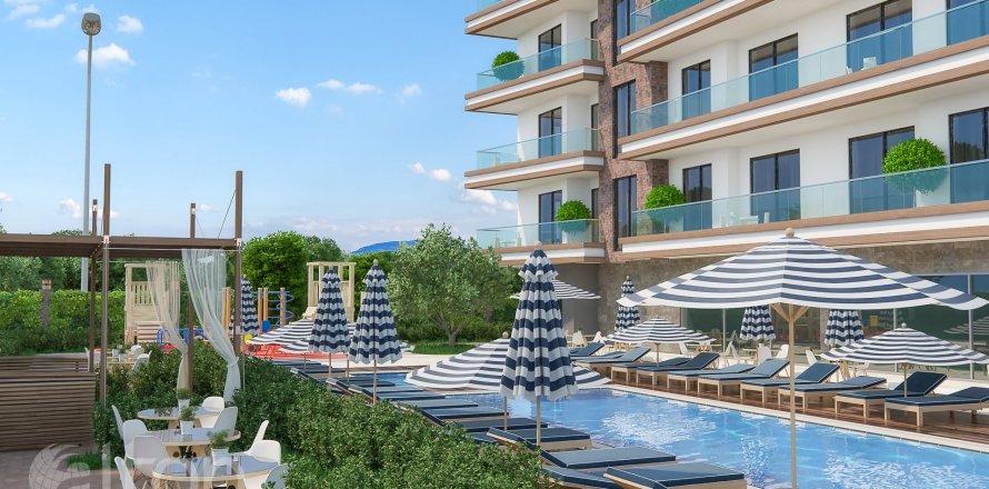 Квартира 1-х ком. в Махмутларе, Анталья, Турция №411