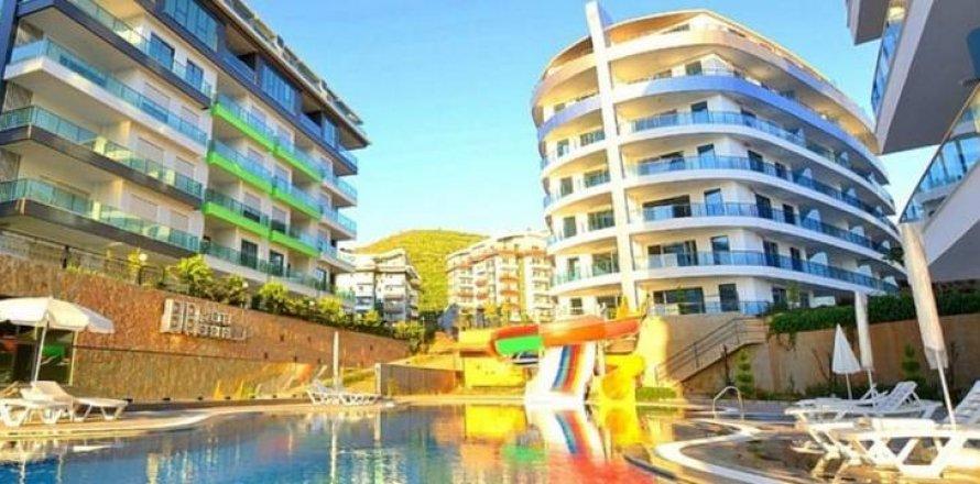 Квартира 1+1 в Каргыджаке, Аланья, Анталья, Турция №10589