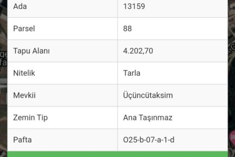 Продажа земельного участка в Аксу, Анталья, Турция, 4.200м2, №11966 – фото 2