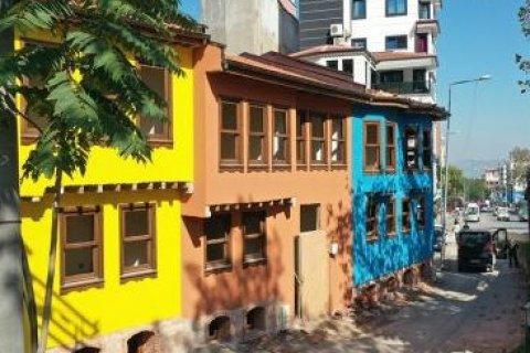 В Бурсе отреставрировали квартал старинных особняков