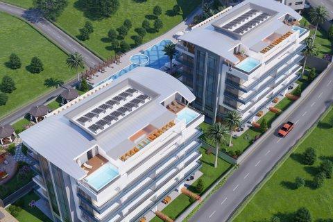 Продажа квартиры в Каргыджаке, Аланья, Анталья, Турция 1+1, 63м2, №16239 – фото 10
