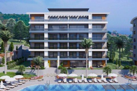 Продажа квартиры в Каргыджаке, Аланья, Анталья, Турция 1+1, 63м2, №16239 – фото 9