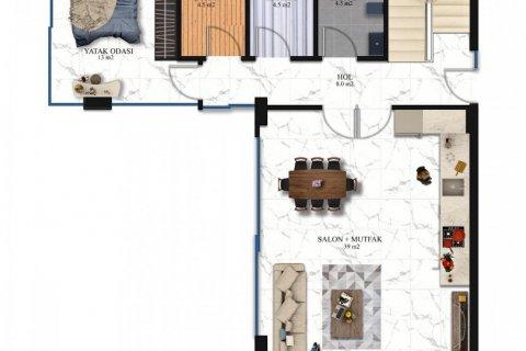 Продажа виллы в Каргыджаке, Аланья, Анталья, Турция 4+1, 215м2, №17518 – фото 19