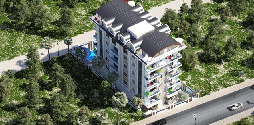 Квартира 1+1 в Махмутларе, Анталья, Турция №18295