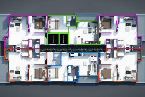 Продажа квартиры в Махмутларе, Анталья, Турция 1+1, 65м2, №18295 – фото 19