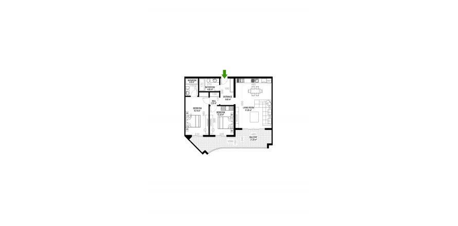 Квартира 2+1 в Махмутларе, Турция №1504