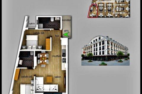 Продажа квартиры в Фетхие, Мугла, Турция 2+1, 80м2, №24477 – фото 7