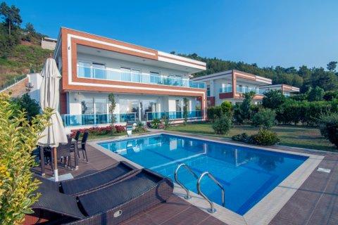 Продажа виллы в Каргыджаке, Аланья, Анталья, Турция 4+1, 500м2, №24520 – фото 3