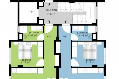 Продажа квартиры в Аланье, Анталья, Турция 3 комн., 72м2, №24697 – фото 5