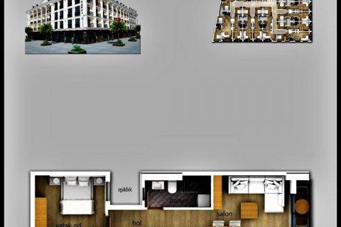 Продажа квартиры в Фетхие, Мугла, Турция 1+1, 52м2, №24475 – фото 7