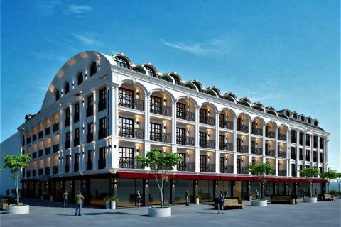 Продажа квартиры в Фетхие, Мугла, Турция 1+1, 35м2, №24476 – фото 1