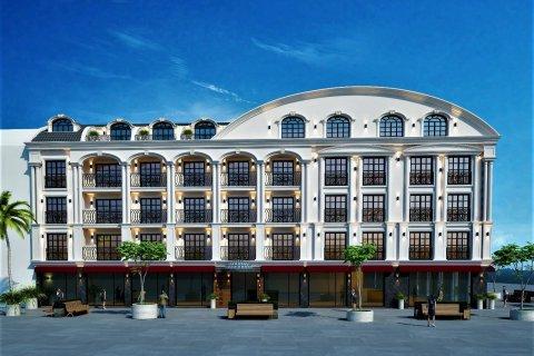 Продажа квартиры в Фетхие, Мугла, Турция 1+1, 52м2, №24475 – фото 1