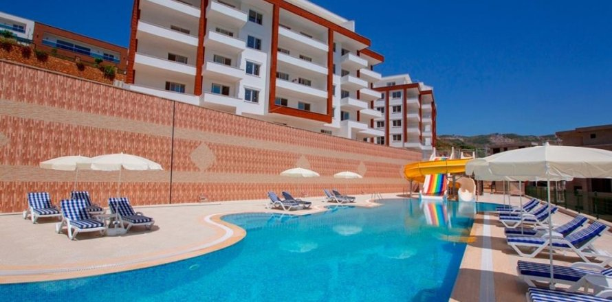 Квартира 2+1 в Каргыджаке, Аланья, Анталья, Турция №26974