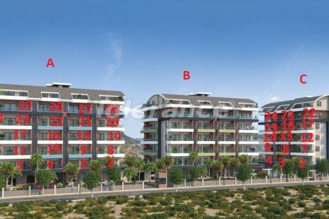Продажа квартиры в Аланье, Анталья, Турция 1+1, №3097 – фото 3