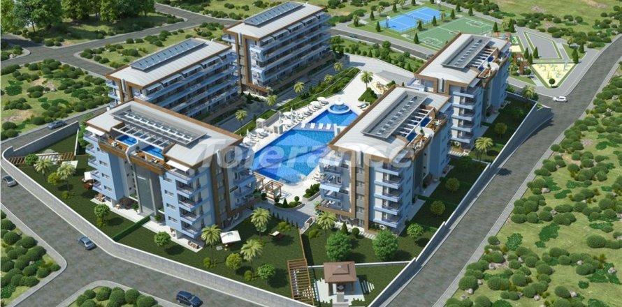 Квартира 1+1 в Аланье, Анталья, Турция №3250