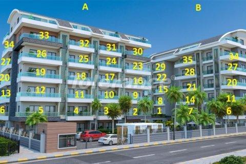 Продажа квартиры в Аланье, Анталья, Турция 2+1, №3093 – фото 10
