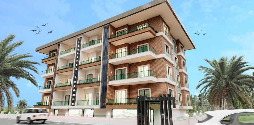 Квартира 1+1 в Аланье, Анталья, Турция №28608