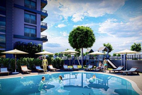 Продажа квартиры в Махмутларе, Анталья, Турция 1+1, 55м2, №30922 – фото 19