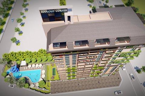Продажа квартиры в Махмутларе, Анталья, Турция 1+1, 55м2, №30922 – фото 21