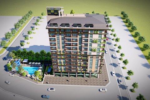 Продажа квартиры в Махмутларе, Анталья, Турция 1+1, 55м2, №30922 – фото 15